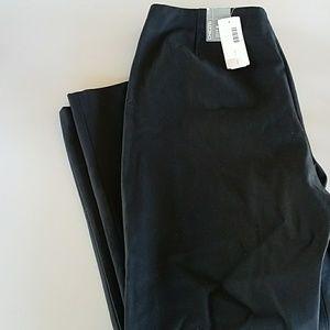 Nwt Chicos sz 3 xl 16 pants slacks black